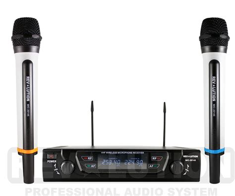 Mic Uhf mic 20145 vhf wireless microphone system wireless