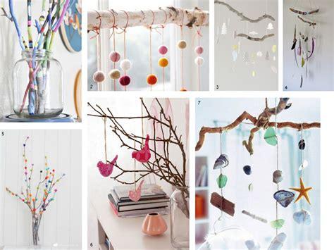 como decorar un portaretrato con ramas 5 el bosque en casa ramas troncos y manualidades en madera
