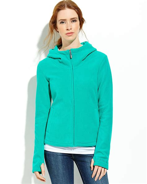 bench fleece hoodie bench jade green zip up fleece hoodie shop women s