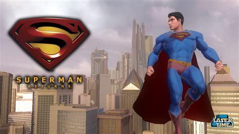 Gamis Permen superman returns let s do this laser time