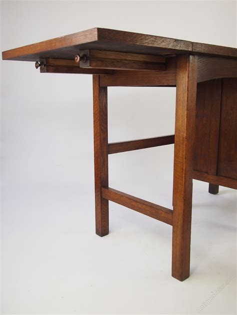 Small Retro Desk Small Vintage Oak Desk Antiques Atlas