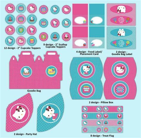 hello kitty printable birthday decorations pin by maria reveles on printables pinterest