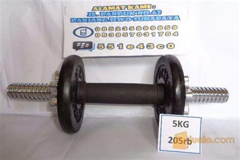 Barbel Dumbel Fitness 5 Kg dumbell barbel set murah 5kg surabaya jualo