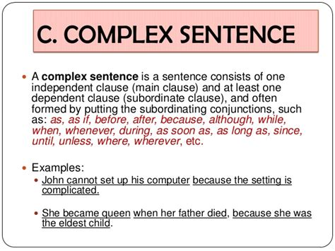 sentence patterns parts syntax the sentence patterns of language