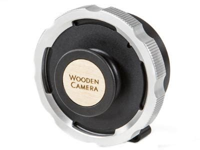 wooden camera mft to pl lens mount adaptor lemac