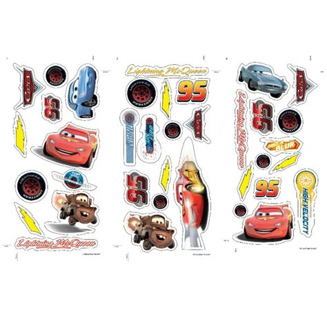 Disney Cars Wall Decals inspiring pixar cars wall decals home design 990