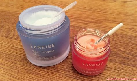 Laneige Water Sleeping Mask Malaysia fashion lifestyle travel fitness review laneige new water