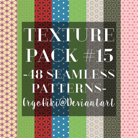 pattern texture pack download texture pack 15 seamless patterns by ergohiki on deviantart
