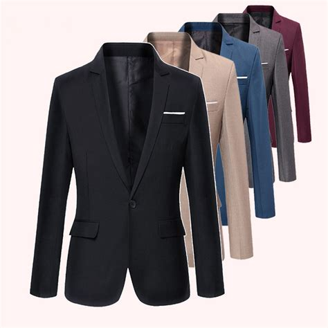 Style Korean Single Button Blazer popular cheap mens blazers buy cheap cheap mens blazers lots from china cheap mens blazers