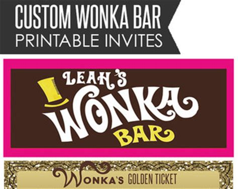willy wonka bar template the gallery for gt wonka bar logo