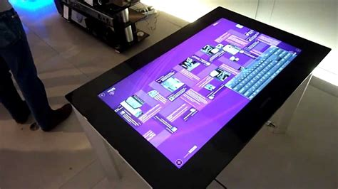 Surface Table by Samsung Sur40 Surface Table On