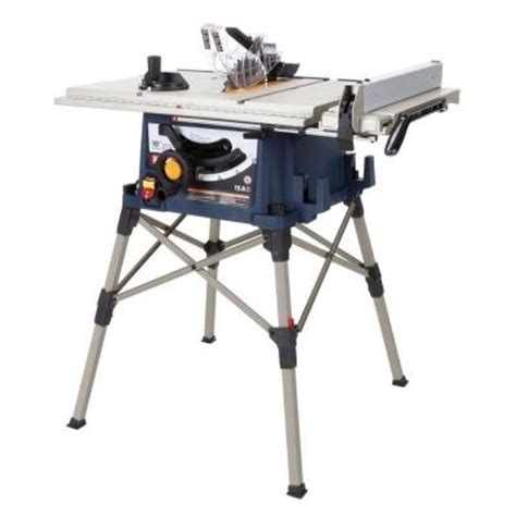 Home Depot Ryobi Table Saw by Table Saws Ryobi 10 In Portable Table Saw With Stand Rts21