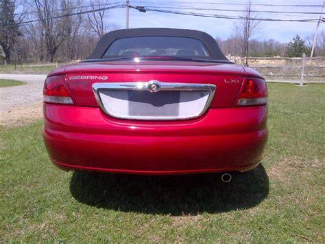 2002 Chrysler Sebring Convertible Parts by 2002 Chrysler Sebring Convertible Usa Chalk Hill Pa