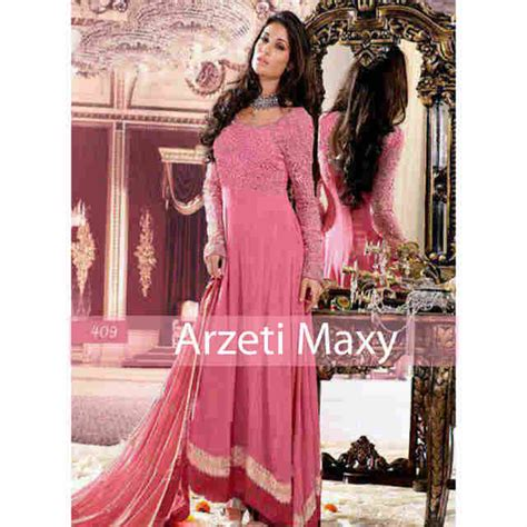 Gamis Pesta India baju gamis pesta satin brokat arzeti p901 gaun pesta india