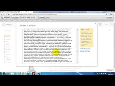 membuat youtube adsense sukses bisnis adsense tutorial membuat akun adsense youtube