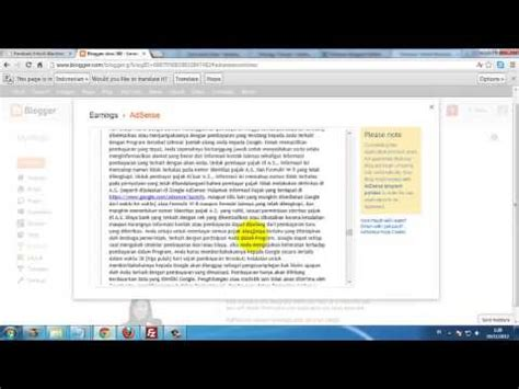 tutorial youtube adsense sukses bisnis adsense tutorial membuat akun adsense youtube