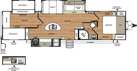 salem rv floor plans 2017 forest river salem hemisphere 300bh cing world
