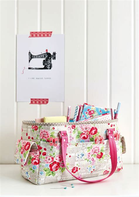 bag crafts free oslo craft bag pattern sew sweetness