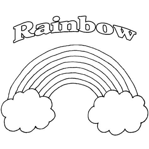 Printable Rainbow Coloring Pages Coloring Me Rainbow Coloring Pages For