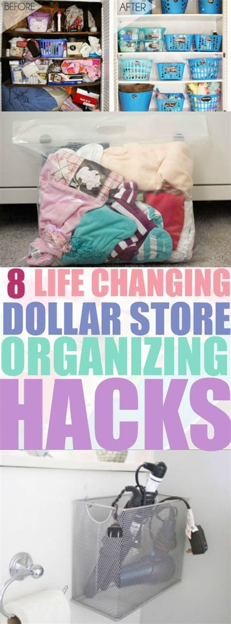dollar store organization hacks best 25 dollar store hacks ideas on pinterest dollar