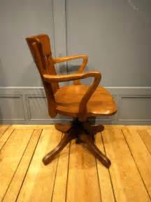 Antique Desk Chair Mechanism Early 20th Century Desk Chair Antiques Atlas