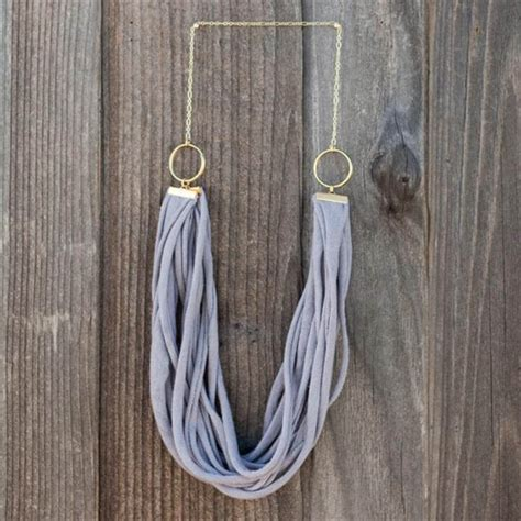 pattern for t shirt necklace 27 easy to make t shirt into jewelry diy to make