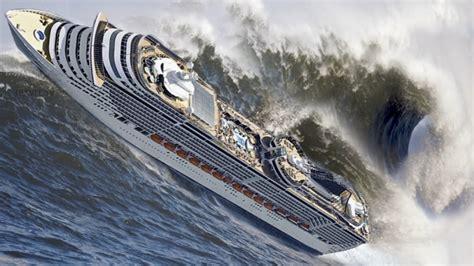 ship video prime twenty ships in storm and crash monster waves