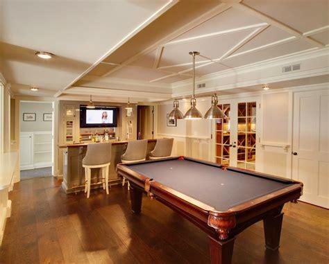 Ballard Designs Home Office basement with wet bar transitional basement