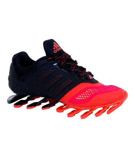 adidas spring blade  red  black sports shoes buy
