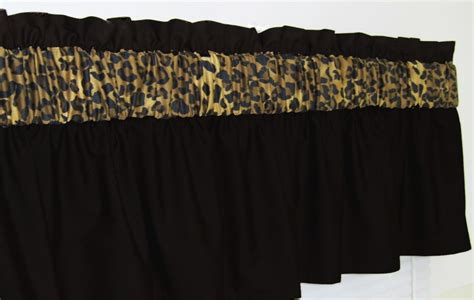 3 In Wide Pocket Solid Black Leopard Cheetah Window