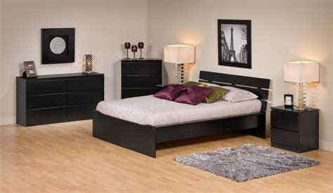 black queen size bedroom sets avanti black queen size platform bed with headboard