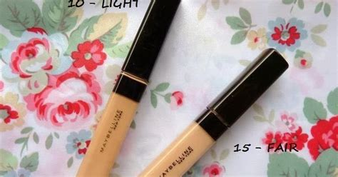 Maybelline Fit Me Concealer No 10 Dan 25 powder maybelline fit me concealers review