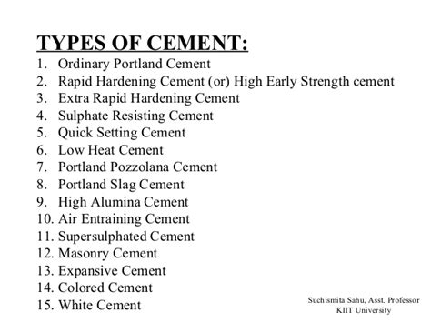 What Type Of Cement To Use For Concrete Countertops 1 cement ppt