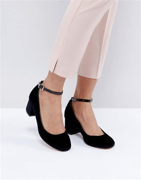 Faiths Heels by Faith Faith Alexia Ankle Block Heeled Shoes