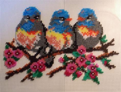 Birds Hama Mini By Gitte Berg Perler Hama