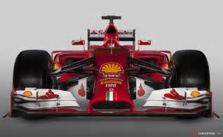 unveils 2014 f1 race car design the new f14 t