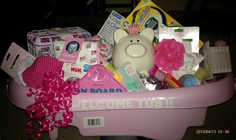 what to gift for baby shower instead of welcome wagon did a welcome tub easy diy baby