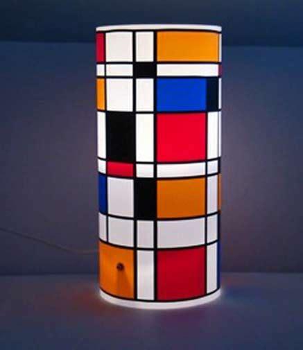 mondrian vase the of ism s
