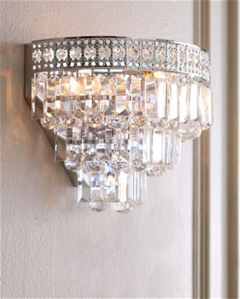 crystal wall sconce bathroom crystal wall sconce traditional wall sconces by horchow