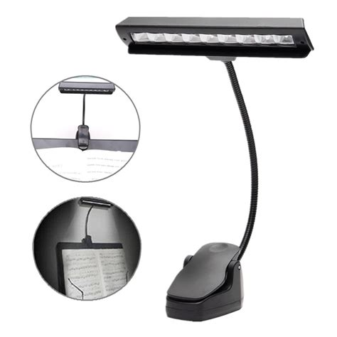 clip on desk light led clip on stand cl light bed table desk