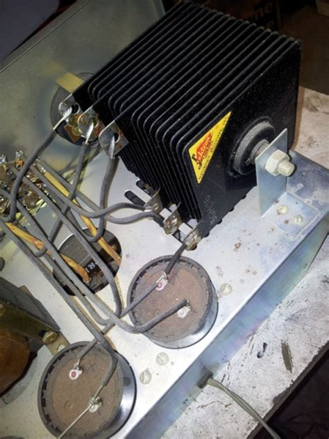 replace selenium rectifier with diode ot selenium rectifier replacement
