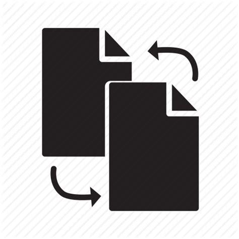 Arrows, document, exchange, files, replace icon | Icon ...