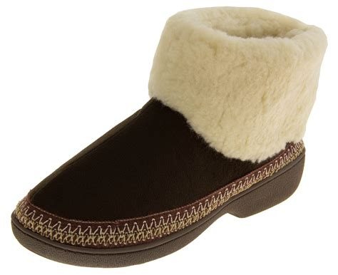 weatherproof slippers jyoti faux suede outdoor sole slipper boots