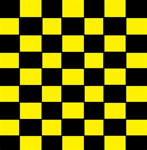 pattern yellow black black and yellow checker pattern by xxemogingerwolfxx on