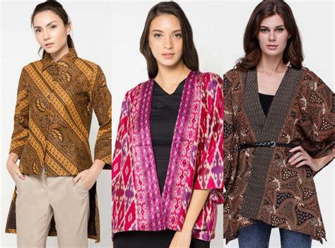 Baju Terbaru Outer By Mikuniku 31 model baju batik modern terbaru co id