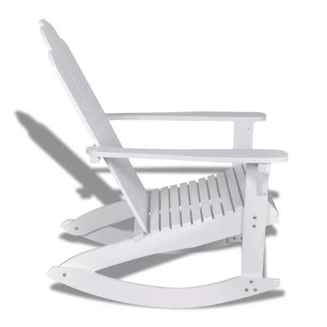 schommelstoel wit aanbieding houten schommelstoel wit online kopen vidaxl nl