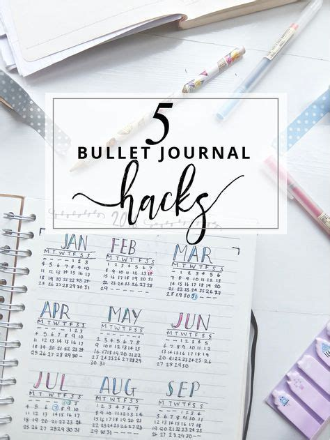 how to bullet journal 15 jul 15 5 bullet journal hacks bullet journal