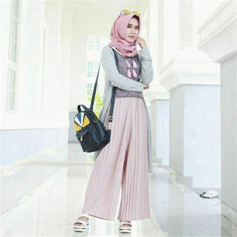 Celana Bawahan Wanita Muslim Nojiko Cullotes 19 model celana kulot panjang untuk yang modis elegantria