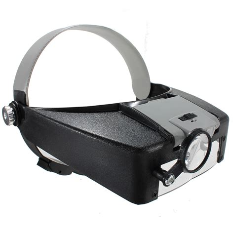 Lighted Magnifying Glasses by 10x Lighted Magnifying Glass Headset Led Headband Loupe