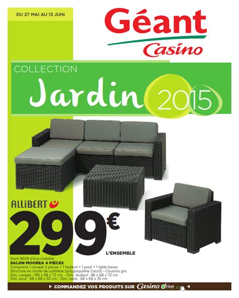 Incroyable Meubles A Chaussures Fly #3: catalogues-geant-casino-Collection-Jardin2015_001.png